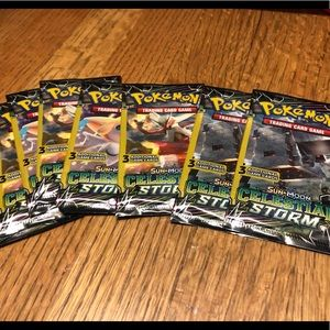 (NWT) 8 Celestial Storm Pokemon packs